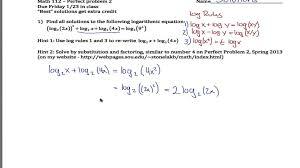 worksheets solving logarithmic equations worksheet hard log equation exmple you exmple