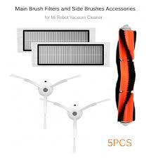 Main Brush Filters Side Brushes <b>Accessories for Xiaomi Mi</b> Robot ...