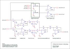 the great volume leveler avr audio compressor non lexical audio compressor analog stage schematic click to enlarge