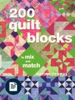 501 Quilt Blocks & Davina Thomas - 200 Quilt Blocks to Mix and Match Adamdwight.com