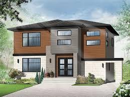 Contemporary Home Plans    Story Contemporary House Plan for a    Modern Home Design  H