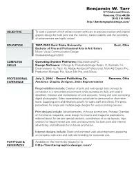 Job Objectives Career Objectives On A Resume Paknts Com