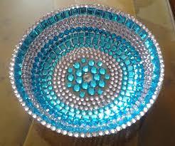 Turquoise Decorative Bowl Decorative Bowl Raji Creations 17