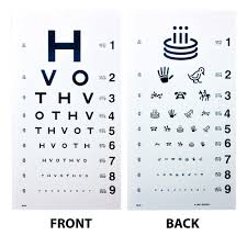 Picture Vision Chart Hotv Eye Chart 20 Distance Eye Cards Eye Charts