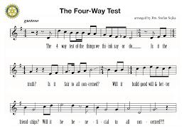 four way test