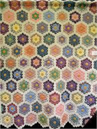 garden quilt. Antique Diamond-Set Garden Quilt Exhibited By Beverly Hawkins, 2013 AZQG E