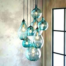 surprising custom hand crafted fused glass pendant lights and colored glass pendant lights for kitchen island