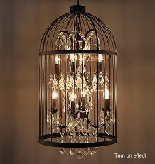 popular country vintage birdcage chandelier bird cage pendant