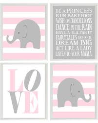 >don t miss this bargain baby girl nursery art elephant nursery  baby girl nursery art elephant nursery pink gray nursery girl wall art