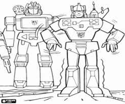 Kleurplaten Transformers Kleurplaat