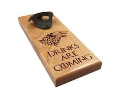 Game Of Thrones Stark House Crest Wooden Plaque Game of thrones wall Etsy 64