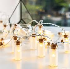 Mini Jar Lights Novelty Glass Jar Mini Battle Led String Lights With 20 Led