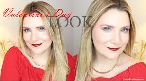 valentine s day look makeup tutorial