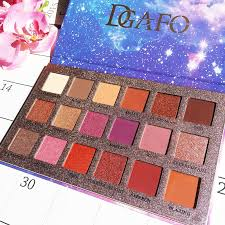 <b>DGAFO 18 Color</b> Eyeshadow Pallete Glitter Makeup Matte Eye ...