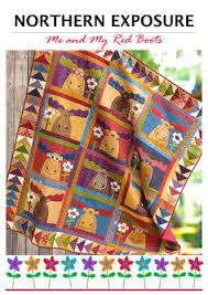 NORTHERN EXPOSURE | Quilt Patterns | PDF Pattern | Quilts | Moose ... & NORTHERN EXPOSURE | Quilt Patterns | PDF Pattern | Quilts | Moose Quilt |  Moose | Applique Quilts | Happy Quilts Adamdwight.com