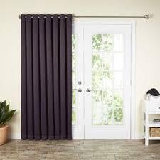 wayfair basics solid blackout grommet single patio curtain panel drapes for patio doors82 patio
