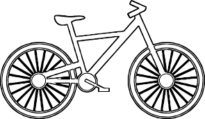 Small Picture Bicycle Coloring Pages New Bike itgodme