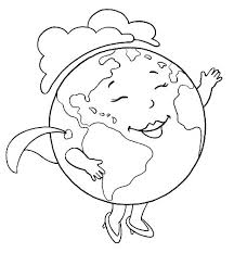 Save Earth Coloring Pages Page Of Free Printable Photograph Planet