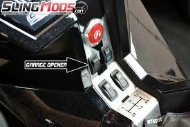 mo door in dash garage door opener for the polaris slingshot