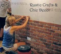 fake bricks for walls interior best brick walls ideas on brick ideas covering interior brick wall