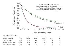 Stage 4 Lung Cancer Survival Rate Racial Differences In The Treatment Of Early Stage Lung Cancer Nejm