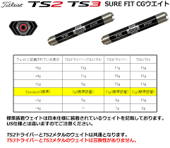 Surefit Cg Weight For The Titleist Ts3 Weight Driver