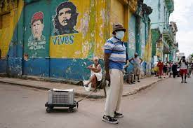 In Cuba, amid Covid-related tourism ...