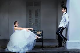 bridal make up artist singapore prewedding couple shoot