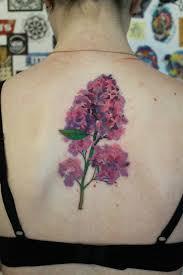 Kytice Tetování Z Divokých Květin Tetování Lila Význam Nákresy