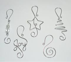 Christmas Tree Ornament Hooks Wire Ornament by WireExpressions