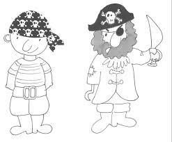 Pirata Da Colorare Per Bambini