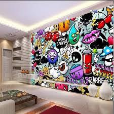 <b>beibehang papel de parede</b> wall paper Custom baby colorful graffiti ...