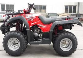 canyon 250cc air cooled utility quad atv with mcpherson suspension