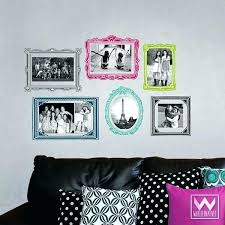 extra large poster frames wall decals picture frame colorful photo frames removable wall decals from extra