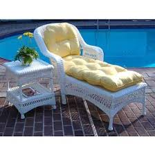 Wicker Furniture Replacement Chair & Love Seat Cushions Midsize