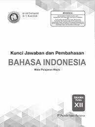 Sangat setuju refleksikan cara berpikir anda dalam 10 pernyataan berikut: 01 Kunci Pr Bahasa Indonesia 12 Edisi 2019