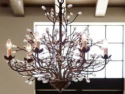 how to make a branch chandelier photo details from these image we d
