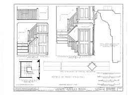 colonial new england house plans wood framed home blueprints