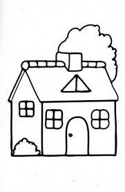 Casa Con Alberi Disegni Da Colorare Semplici Disegni Da Colorare E