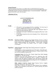 Resumes United States Government United States Congress