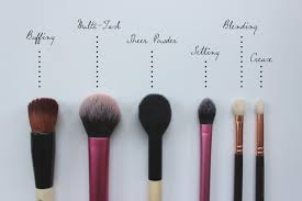 the essential makeup brushes