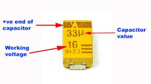 Smd Capacitor Size Chart Capacitor Codes Markings Electronics Notes