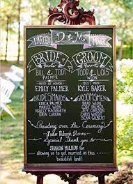 Seating Chart Wedding Amazon Com Large Wedding Chalkboard Rustic Wedding