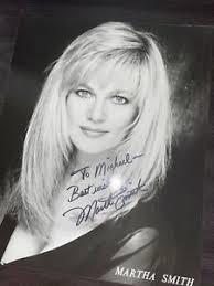 Martha Smith Autograph Photo 8x10 Vintage | eBay