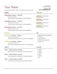 Nanny Resume Cover Letter Notes Template Nannying Resume Ricard