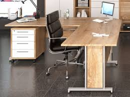 large office desk. Perfect Desk View Larger Gallery Maja Harmony Modern Corner Office Desk In Sonoma Oak  Finish With A Pedestal Inside Large Office Desk K