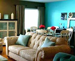 brown accent wall living best room colors