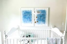 decoration blue stars crib bedding prince little set