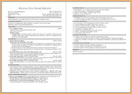 Two Page Resume Sample Haadyaooverbayresort Com