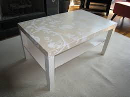 elegant lack coffee table of decoupaged ing laura ashley wallpaper